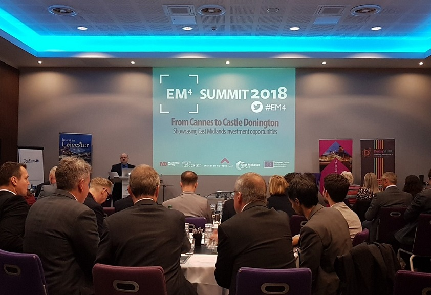 EM4 event at East Midlands Airport