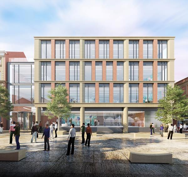 Nottingham's Grade A Station Street Offices Given Green Light