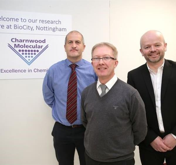 Nottingham Drug Discovery and Chemistry Firm has Sights set on Continued Expansion