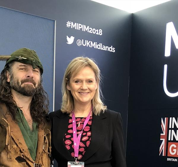 Robin Hood helps Nottingham steal the show at MIPIM