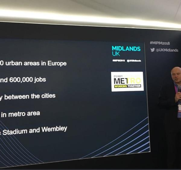 Metro Strategy set to drive Nottingham/Derby link forward as next steps revealed at MIPIM