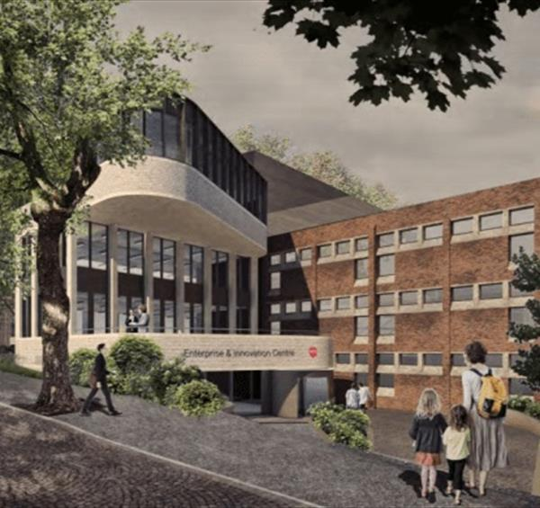 Nottingham Trent University plans for new Enterprise Innovation Centre given the green light